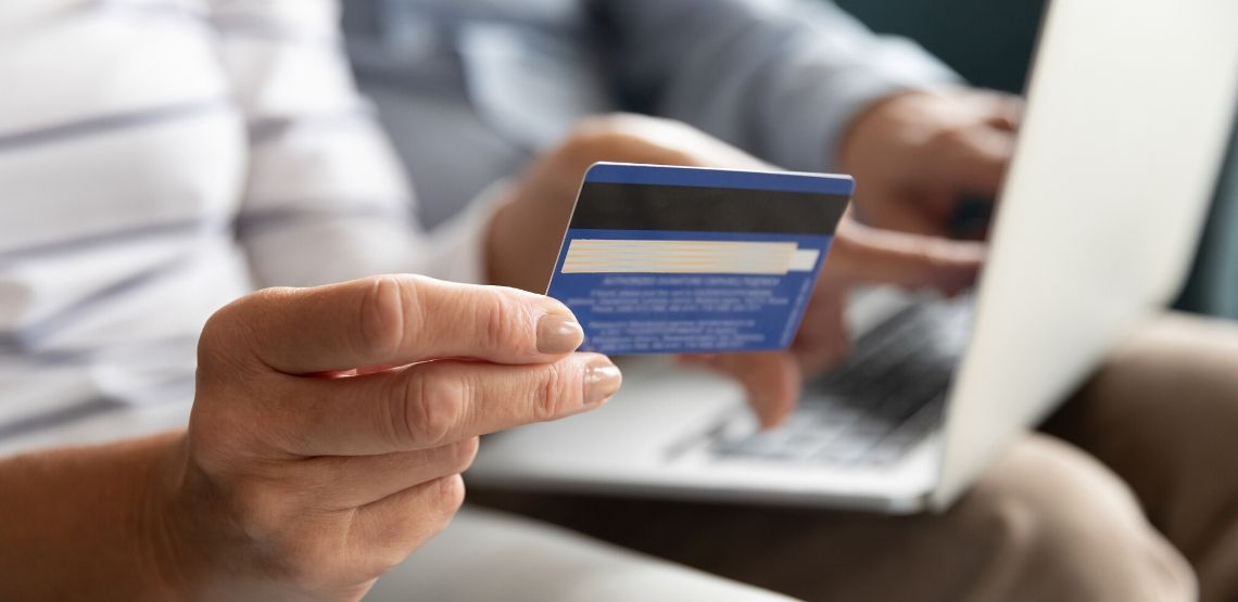 Scammers often go after credit cards.