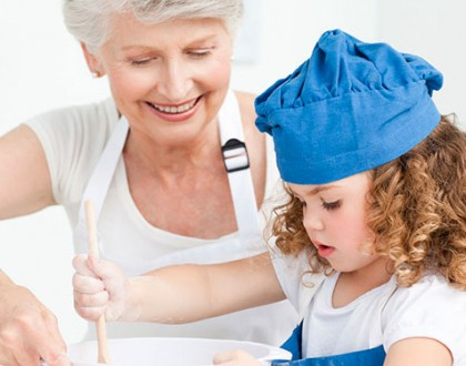 The Joy of Cooking With Your Grandchildren