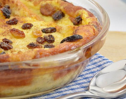 Miss Shirley McDowell's Bread Pudding