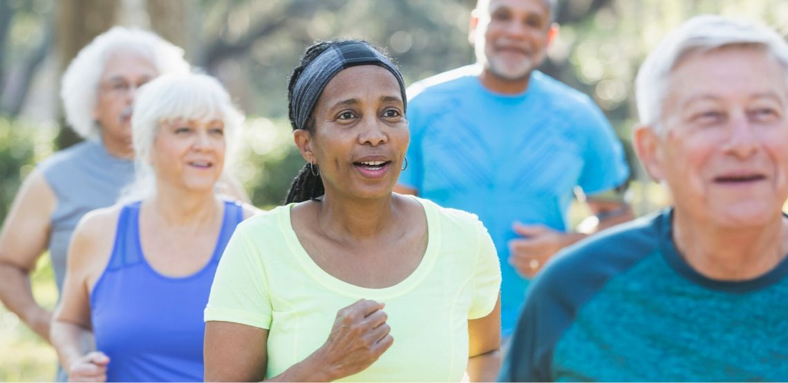 Running programs are a great way to start running.