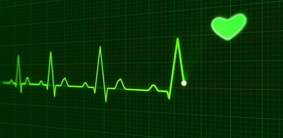 A heart monitor.
